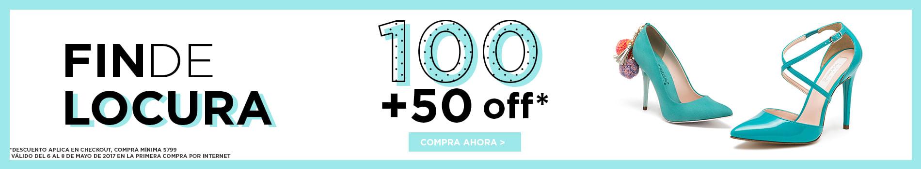 Fin de Locura, 100 50