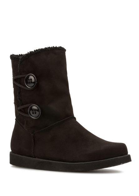 botas bajo zapatos zapatos zapatos botas militares 3 cm negro elegantes como piel 9642 324b57