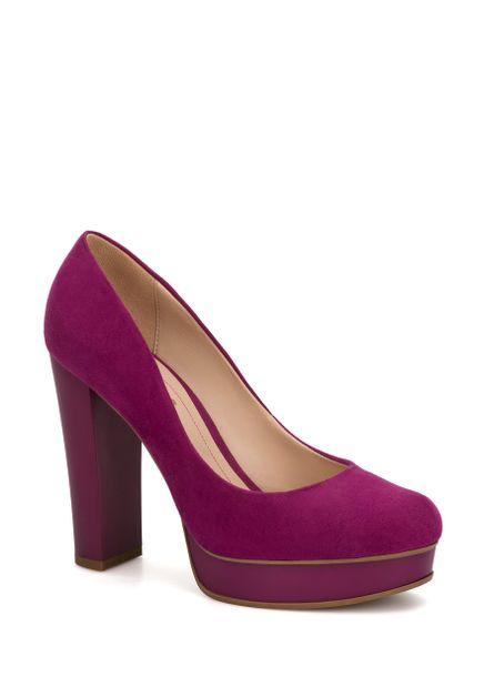 Zapatos morados formales para mujer XbWlpki