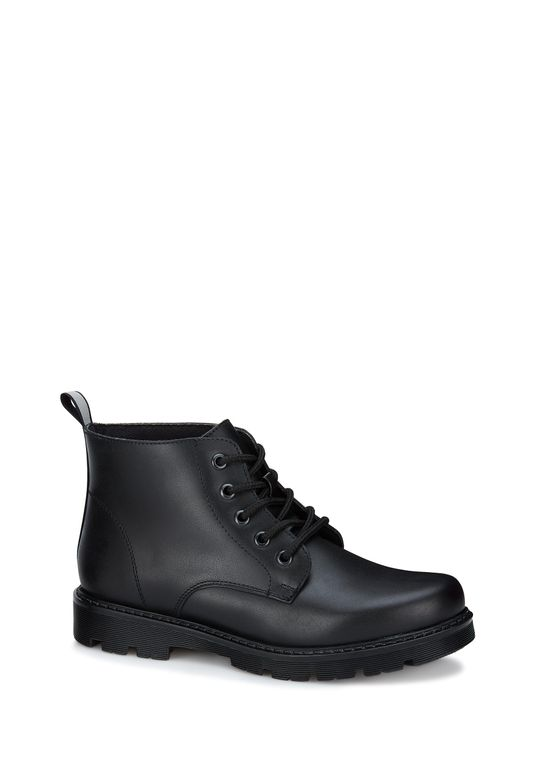 BLACK LEATHER BOOT 2675282 -  4