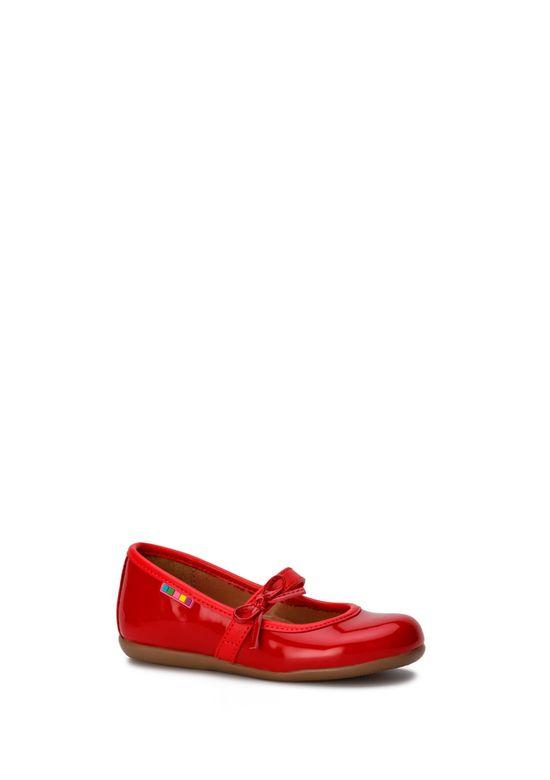 RED BALLET FLAT 2597683 -  8