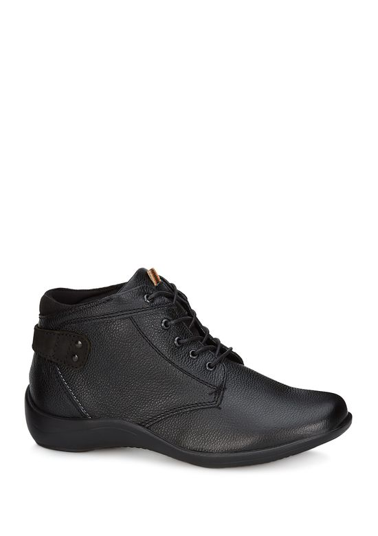 BLACK LEATHER BOOT 2620749 -  6