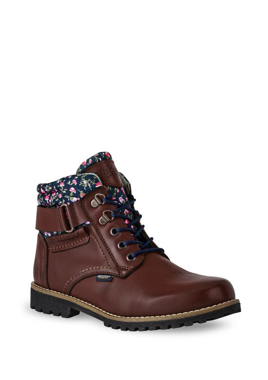 DARK BROWN ANKLE BOOT 2426006 -  5.5