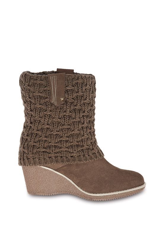 BROWN BOOT 2068862 -  5.5