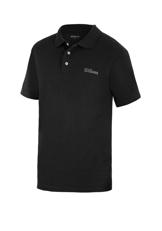PLAYERA POLO LISA NEGRO 1259537 - Andrea f03df2acb17
