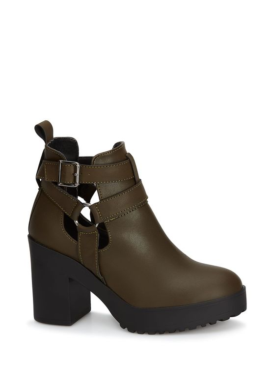 GREEN ANKLE BOOT 2694122 -  7