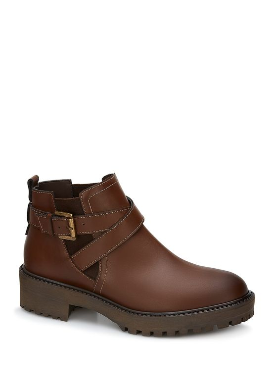 BROWN BOOT 2735269 -  5.5