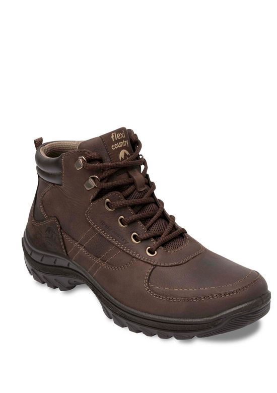 DARK BROWN ANKLE BOOT 2753645 -  6