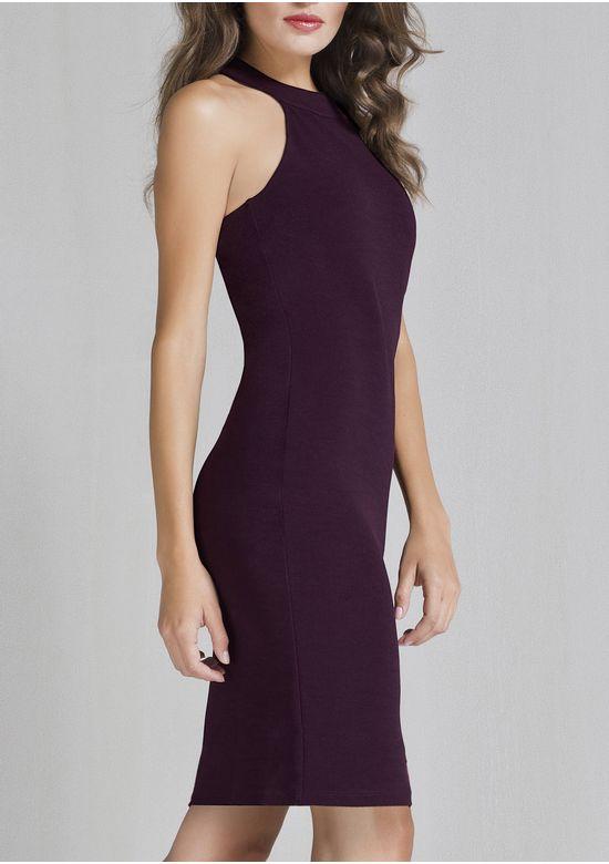 PURPLE DRESS 1396454 - MED