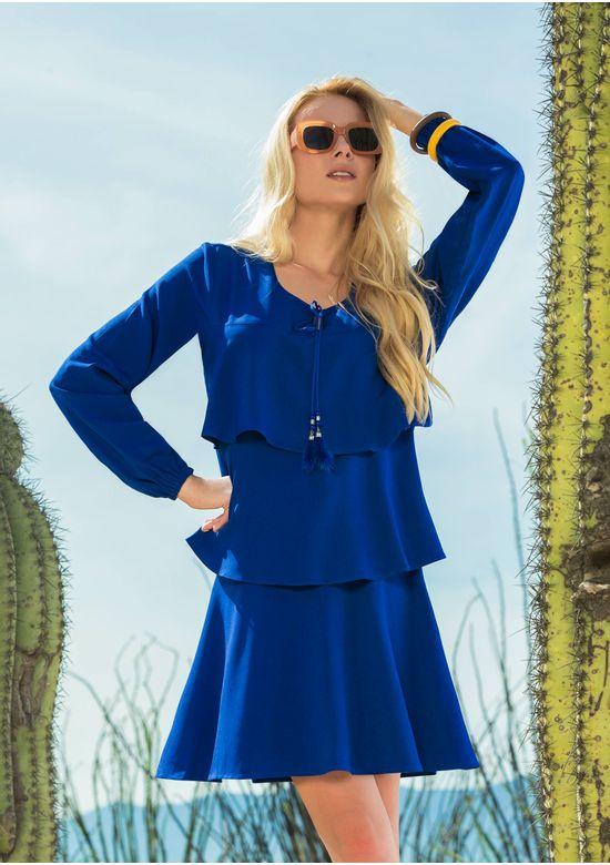 BLUE DRESS 1398991 - MED