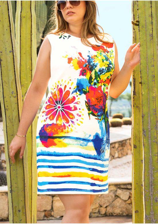 IVORY DRESS 1407990 - XXXL