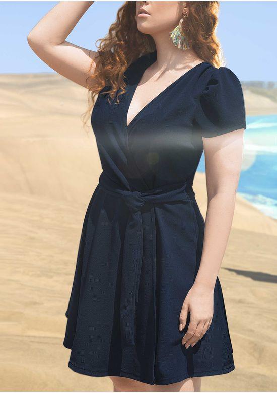 NAVY BLUE DRESS 1430073 - XXXL