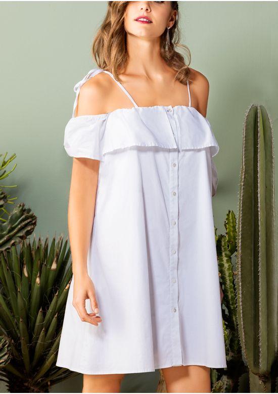 WHITE DRESS 1357899 - XS