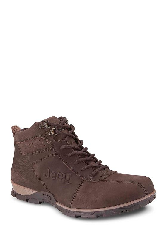 DARK BROWN ANKLE BOOT 2663326 -  6.5