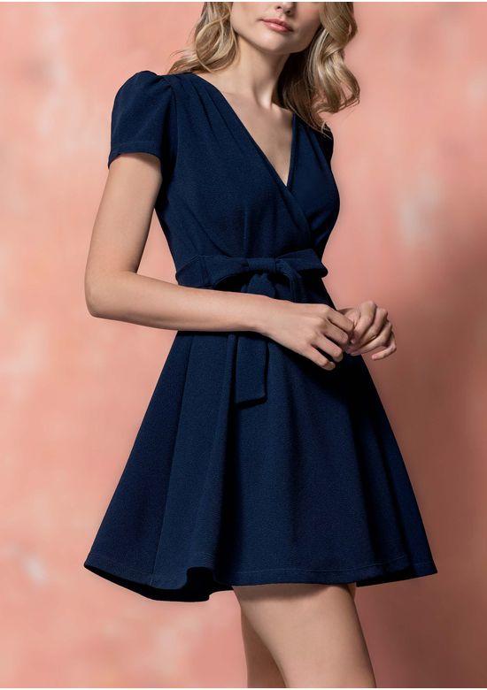 NAVY BLUE DRESS 1281972 - XS