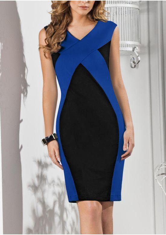 BLUE DRESS 1316476 - XS
