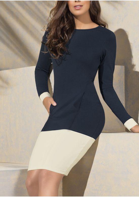 BLUE DRESS 1316735 - XS