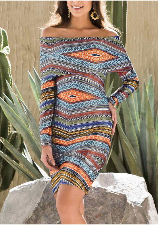 MULTICOLOR DRESS 1316711 - XS