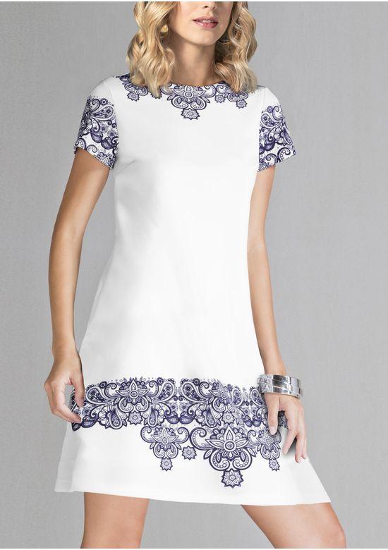 WHITE DRESS 1351996 - XS