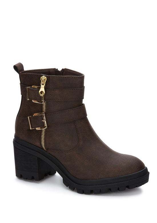 BROWN ANKLE BOOT 2770949 -  7
