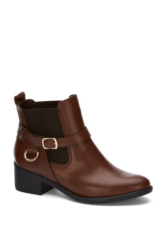 BROWN ANKLE BOOT 2814261 -  9.5