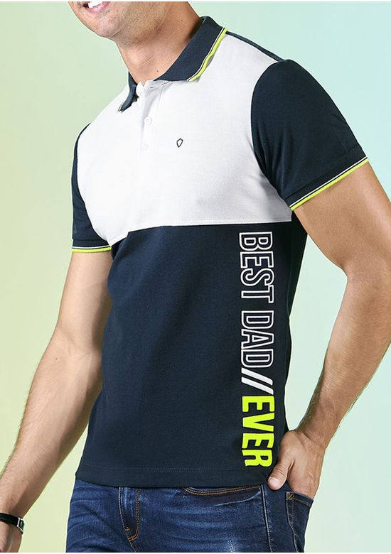 MULTICOLOR POLO T-SHIRT 2834382 - MED