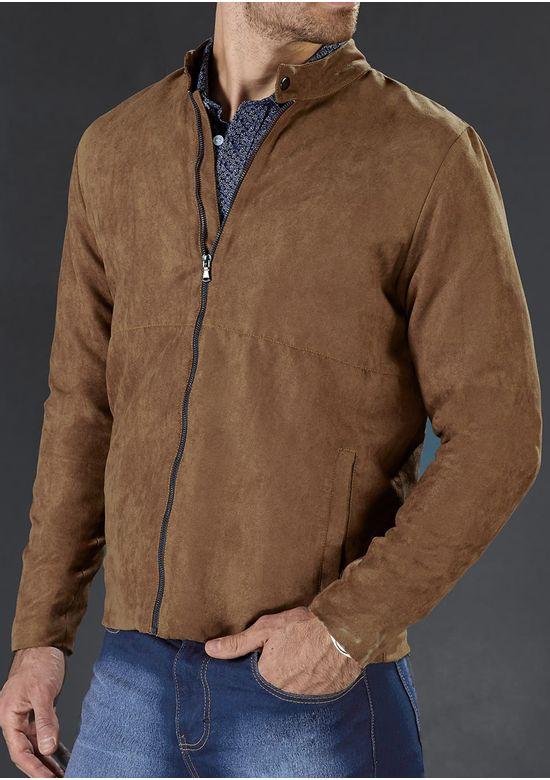 BROWN JACKET 1500356 - MED