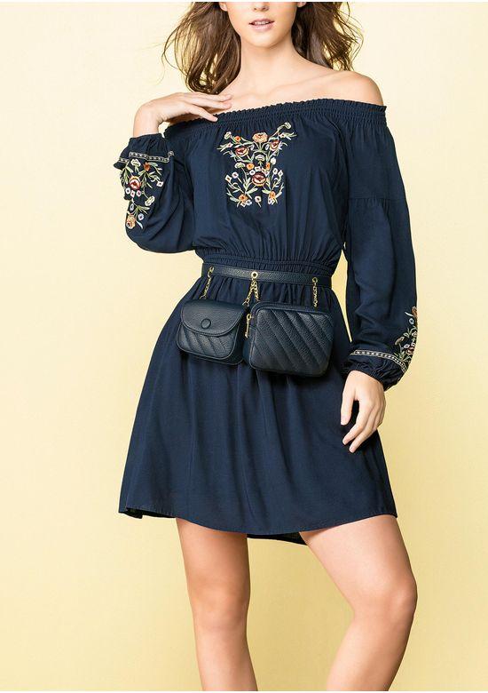 NAVY BLUE DRESS 1475937 - SMA