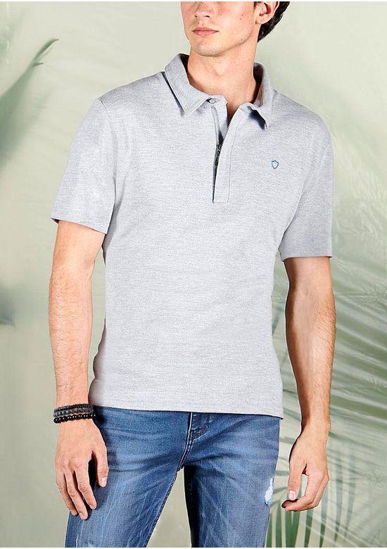 GRAY POLO T-SHIRT 1501070 - SMA