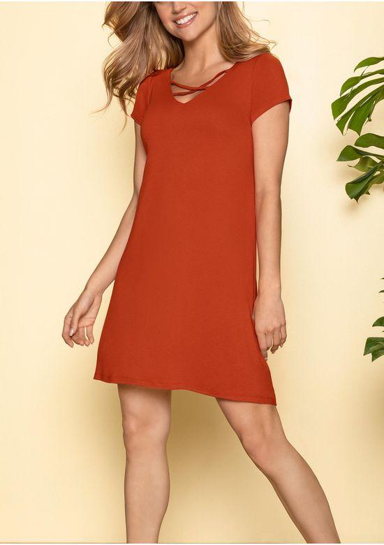ORANGE DRESS 1503531 - MED
