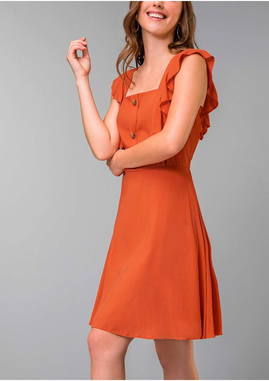 ORANGE DRESS 1474435 - SMA