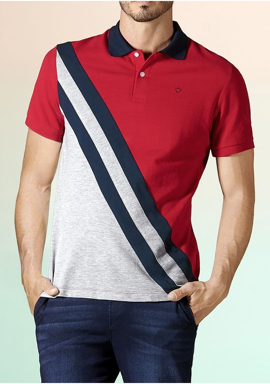 MULTICOLOR POLO T-SHIRT 2834283 - MED