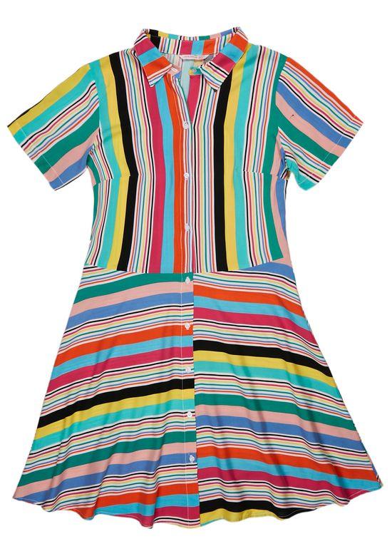 MULTICOLOR DRESS 1474336 - SMA