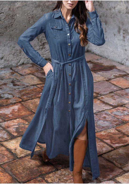 BLUE DRESS 2970806 - SMA