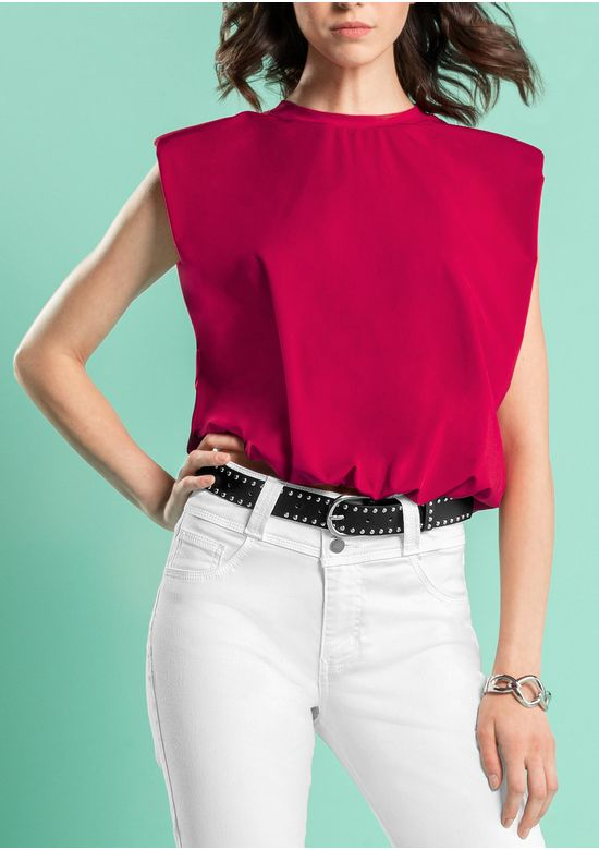 RED BLOUSE 2969602 - SMA