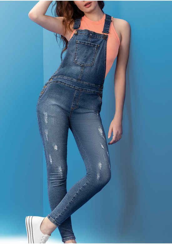 BLUE OVERALL 2998305 - XS