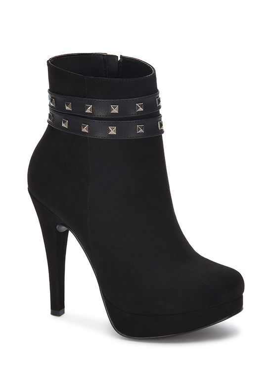 BLACK ANKLE BOOT 2982069 -  7