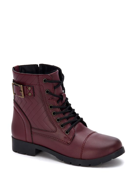 BURGUNDY ANKLE BOOT 2981468 -  6