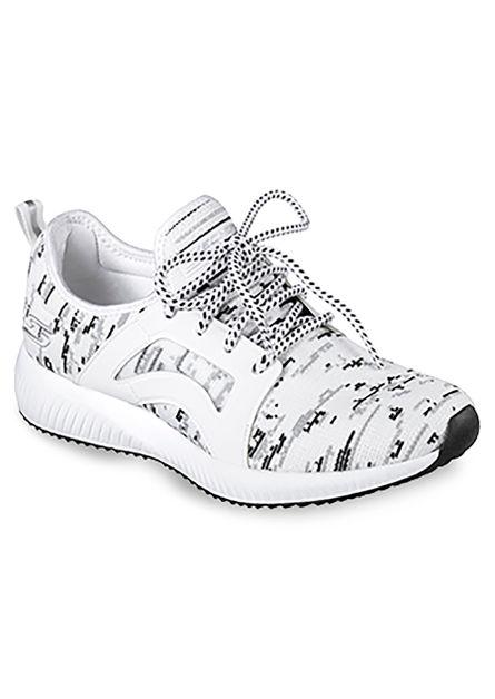 Mujer Zapatos Blanco Blanco Zapatos Skechers Skechers Mujer Mujer ZScxxw5CTq