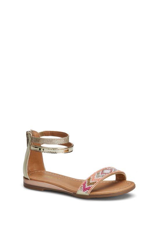 Strap Oro Niña Ankle Sandalia Multicolor 2575087 bf76gYy