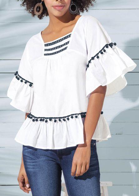 5d6d475ece Resultado de búsqueda - Blanco Mujer - Ropa - Blusas ANDREA