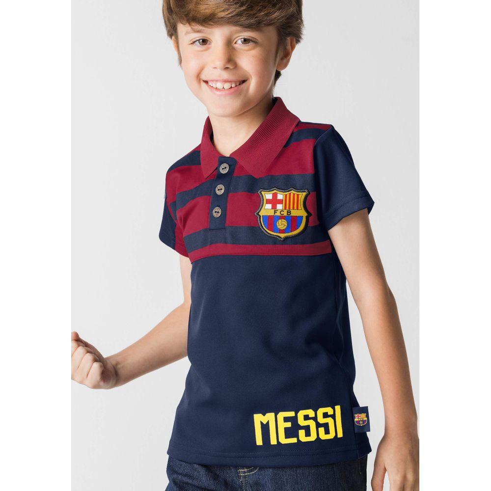 6c1e1fc0e3e4b PLAYERA POLO BARCELONA FC MULTICOLOR 1390636 - Andrea
