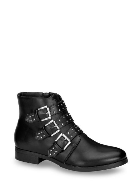 BOTA ANKLE BOOT MUJER NEGRO 2617947 eb6258fcf14d