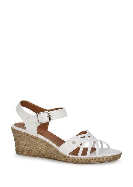 M8nnv0w Andrea 24 Zapatos Sandalias Blanco Mujer F1JlTKc