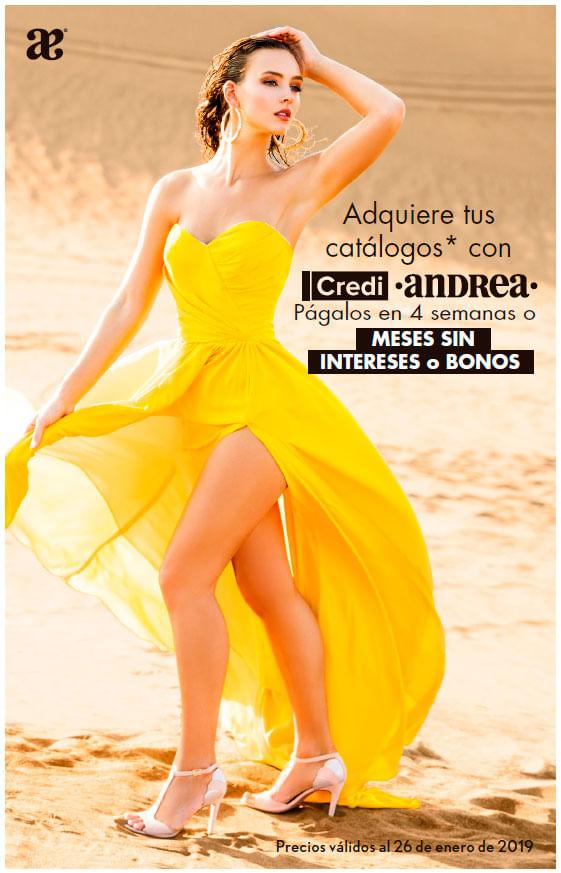 Preventa de Catálogos Primavera 19 | Andrea