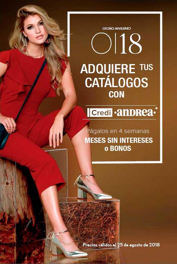 Preventa de Catálogos Otoño/Invierno 18 | Andrea