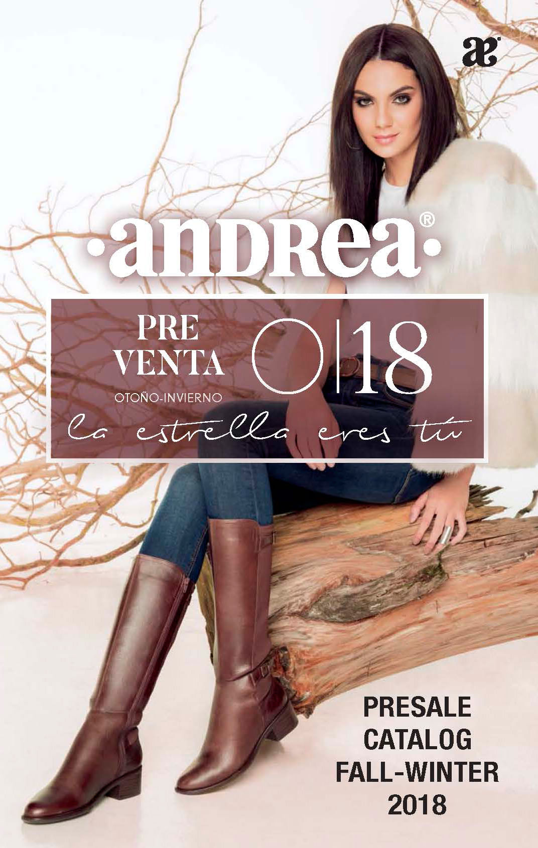 Preventa de Catálogos Otoño Invierno 18 | Andrea